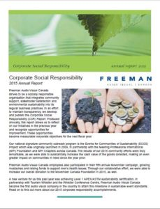 Corporate Social Responsibility Annual Report